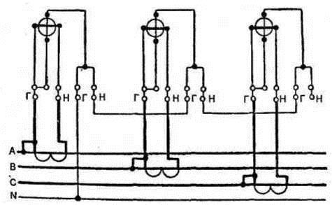 Схема учета энергии в