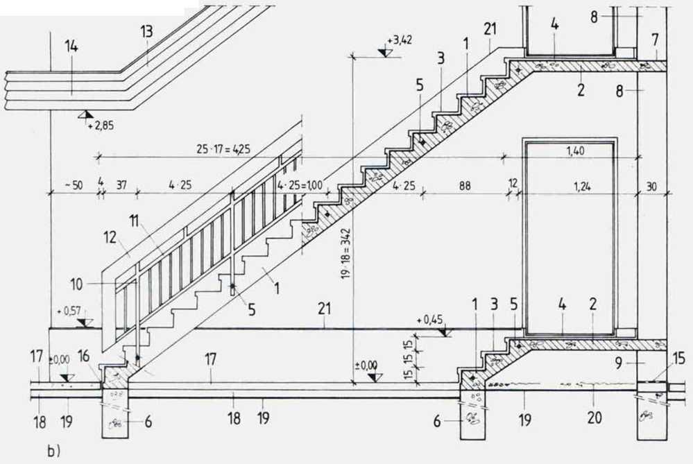 Горизонтальная лестница своими руками