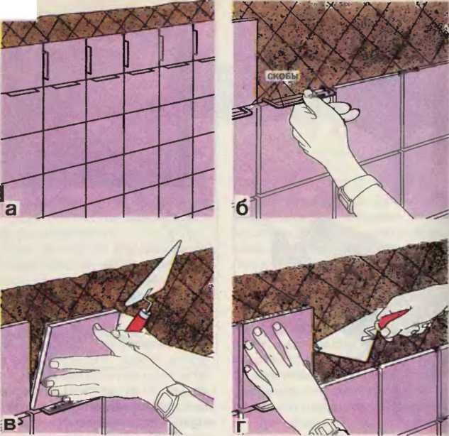 Схема укладки плитки фото