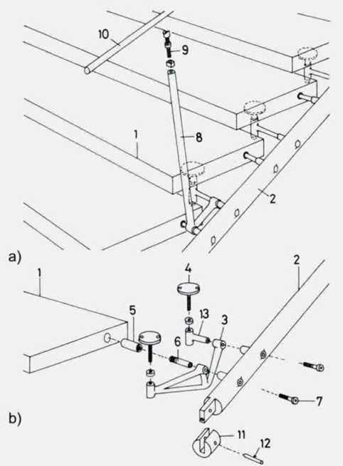 Схема сборки деревянных лестниц